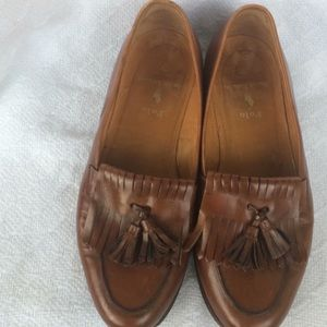 Polo Ralph Lauren Leather Loafer Moc Shoes